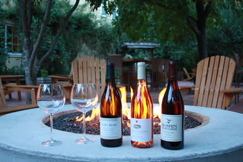 fern grove cottages wine tasting