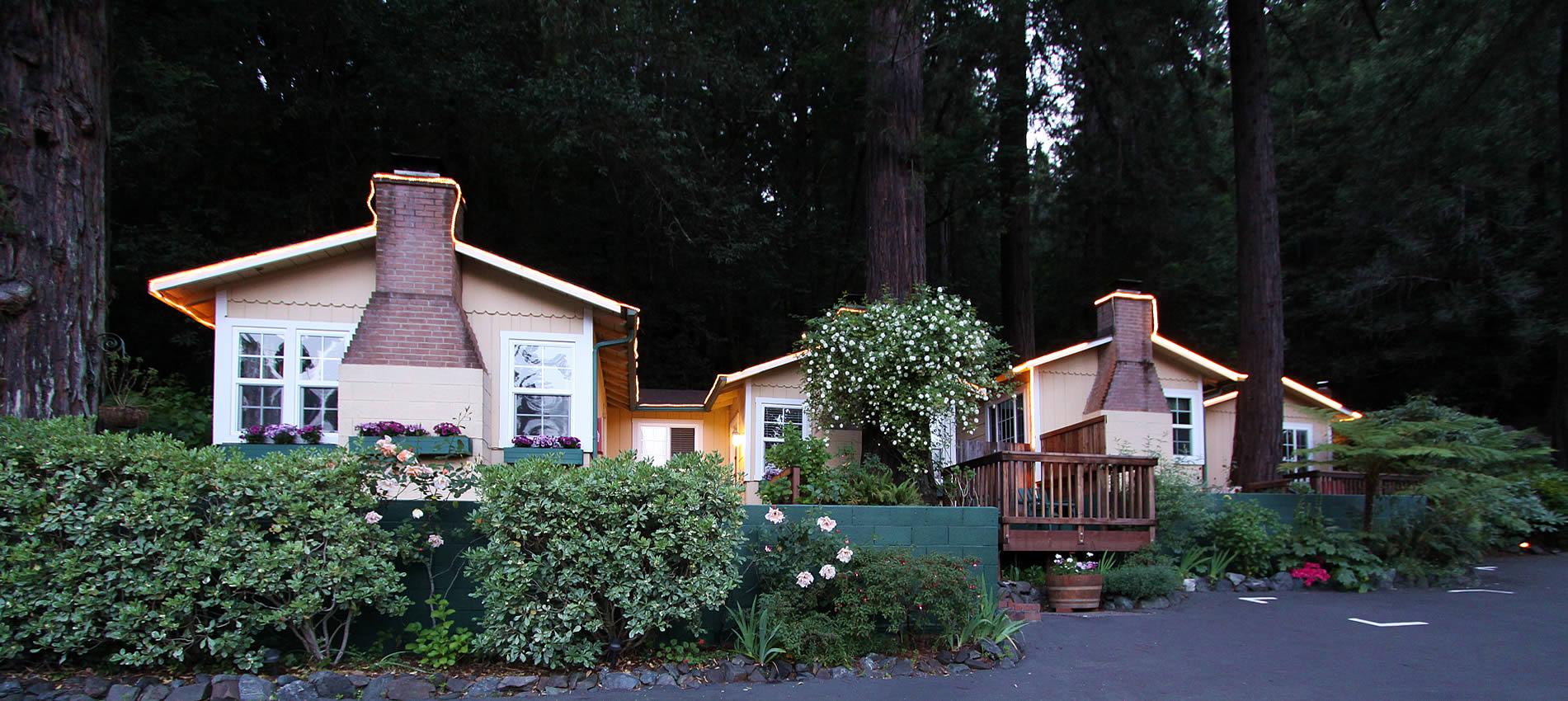 fern grove cottages - cabins - russian river ca